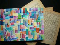 #artnestoltes DÍA 3 - Locura Acuarela  #artnestoltesllotja #cadadosdias  #arte  #art  #artwork #acuarela #locura #sketchbook #sketching #ilustración  #ilu #ilustration  #colorines #libreta  #geometria