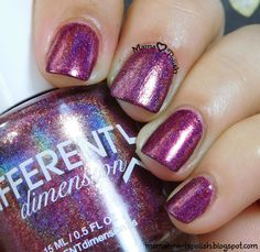 Mama Hearts Polish Indie Swatch and Review: Different Dimension Shooting Star Cetus