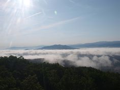 View From Look Rock, Great Smoky Mountains National Park 5/20/2013