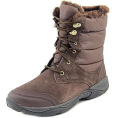 Easy Spirit Erle Women US 9 Brown Snow Boot * You can get additional details at the image link.