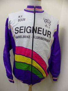 301071a03 N.V.BOUW SEIGWEUR Cycling Jerseys