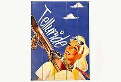 Telluride Ski Woman