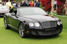 Bentley Continental GT Convertible, make it white please.