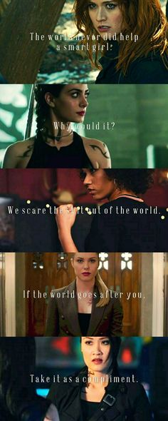 Shadowhunters Ladies