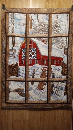 Attic Window Quilts, Panel Quilts, Advent Calendar, Couture, Holiday Decor, Frame, Home Decor, Scrappy Quilts, Easter Activities