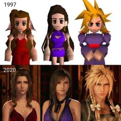 Wouldnt be Final Fantasy 7 without the cross dressing Final Fantasy Vii Remake, Final Fantasy Funny, Final Fantasy Cloud, Final Fantasy Artwork, Final Fantasy Characters, Fantasy Series, Fantasy World, Gamer Humor, Gaming Memes