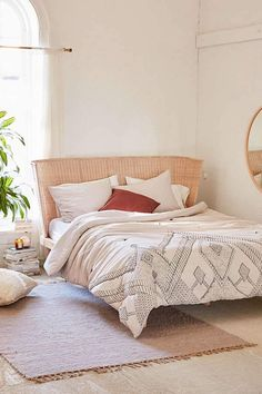 Urban Outfitters Evie Embroidered Comforter #bedroomdesign
