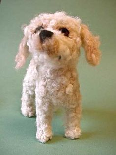 """Check out """"Felted Dogs"""" crafters hand-make a 'sculpture' of your dog out of wool"""
