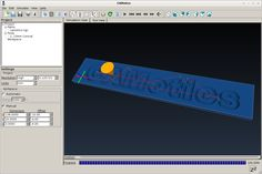 Open-Source Simulation & Computer Aided Machining