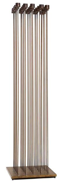 Bertoia - I installed this piece back in my museum career days. More than just sound . . . vibration was mesmerizing.