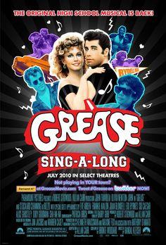"Grease (1978) Poster - ""I got chiiiiills, they're multiplying, and I looooose self-control..."""