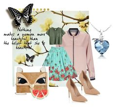 """""""date!!!!!!!"""" by pandastudio1 ❤ liked on Polyvore featuring Vellum, Miss Selfridge, Lipsy and Betsey Johnson"""