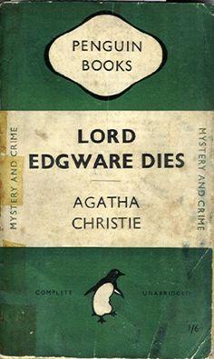 Lord Edgware Dies. Penguin Crime No 0685 by Agatha Christie https://www.amazon.co.uk/dp/B000J2L7HO/ref=cm_sw_r_pi_dp_nFBkxb4QDBC5S