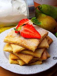 Szefowa w swojej kuchni. ;-): Pannukakku - fiński naleśnik z piekarnika (pieczony)