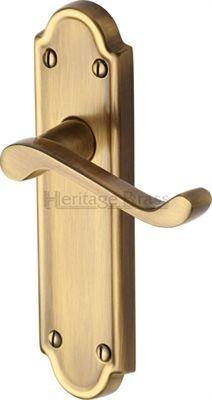 Meridian Door Handles on Backplate  sc 1 st  Pinterest & Savoy Door Handles on Backplate   Door Handles   Pinterest   Door ... pezcame.com