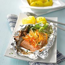 Zalm in aluminiumfolie Recept | Weight Watchers België