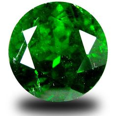 Diopside 110794: 3.71 Ct Spectacular Round Shape (9 X 9 Mm) Green Chrome Diopside Gemstone -> BUY IT NOW ONLY: $54.99 on eBay!
