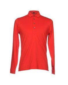 MP MASSIMO PIOMBO Men's Polo shirt Red XXL INT