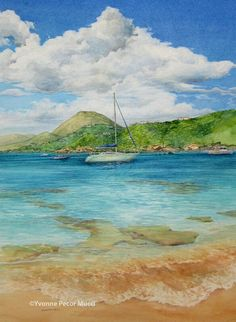 This artist is wonderful I have pinned a few. Yvonne Decor Mucci