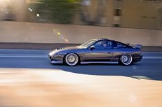 Nissan 240SX Hatchback with JDM 180SX Type X Kit and Wide Overfenders.