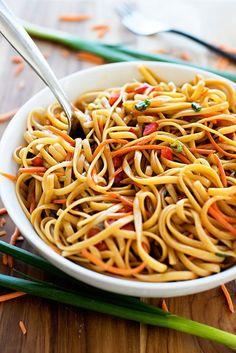 Summer Pasta Salad Recipes With Spaghetti Noodles.Spaghetti With Tomatoes Black Olives Garlic And Feta . Asian Pasta Salad Recipe No Mayo Light Healthy ISH . 5 Quick And Easy Kid Friendly Pasta Salads. Asian Pasta Salads, Chicken Pasta Salad Recipes, Easy Pasta Salad Recipe, Summer Pasta Salad, Easy Salad Recipes, Vegan Recipes, Recipes With Spaghetti Noodles, Taco Salat, Potluck Salad