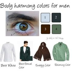 Body Harmony colors for men