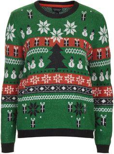 Christmas fairisle sweater