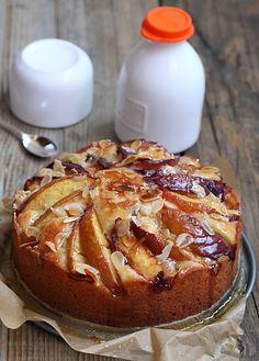 Délices d'Orient: Gâteau aux nectarines