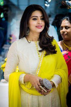 Elegant yellow dupatta - shining