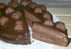 Mia figlia, per il suo compleanno, mi ha chiesto una torta al cioccolato: prova e riprova, è nata la torta Kinder Bueno per Floriana. Ovviamente, Floriana..