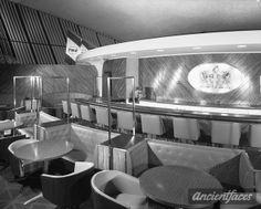 Raymond Loewy   Union News restaurants, TWA, Idlewild. London Club II