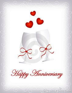 Illustration of heart - 16185768 Happy anniversary Happy Wedding Anniversary Message, Happy Anniversary To My Husband, Anniversary Wishes For Couple, Happy Wedding Anniversary Wishes, Happy Anniversary Cakes, Anniversary Greetings, Anniversary Funny, Aniversary Wishes, Happy Birthday Quotes