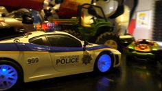 RC POLICE CAR ACTION!  Crazy Police Chase!  Tonka Patrol TOY CARS