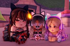 Ballerina Cookies, Roblox Pictures, High Pictures, Bad Cats, Kitty, Miraculous, Royals, Cute, Anime