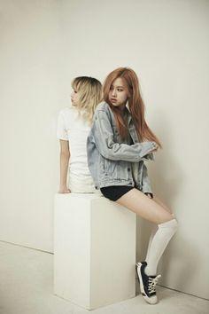 BLACKPINK 블랙핑크 || Rosé 채영, Lisa