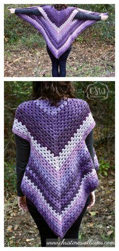 Fabulous Crochet a Little Black Crochet Dress Ideas. Georgeous Crochet a Little Black Crochet Dress Ideas. Crochet Vest Pattern, Crochet Motifs, Crochet Jacket, Crochet Blouse, Baby Knitting Patterns, Crochet Shawl, Knit Crochet, Crochet Vests, Crochet Patterns
