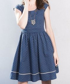 Delaware Dress in Blue by Mata Traders