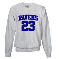 One Tree Hill Ravens 23 Sweatshirt SIZE SMALL