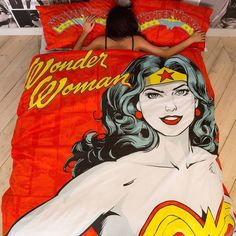 Primark Wonder Woman bedding duvet bed