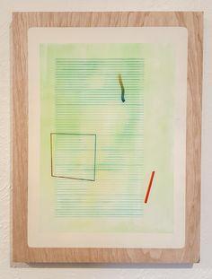 Nathan Suniula, 'Background', acrylic on ply wood panel, 2016