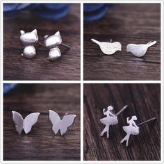 Small, nice earrings for only 0,24$!