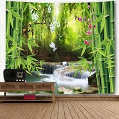 Wonderful Scenery Pattern Wall Decor Tapestry -
