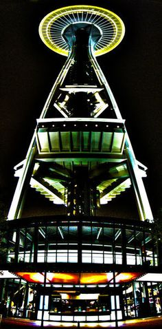 'Space Needle Night' by Nathan Brend