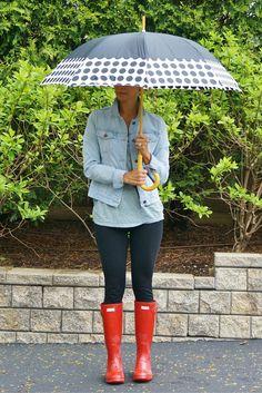Rain, Rain Go Away - my kind of sweet // spring style // mom style