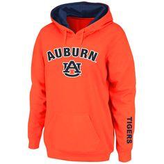 Auburn Tigers Stadium Athletic Women's Arch & Logo Pullover Hoodie - Orange - $27.99