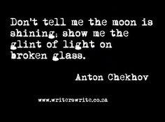 awesome images: Writers Write Quote - Anton Chekhov