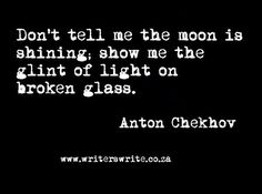 awesome images: Writers Write Quote - Anton Chekhov