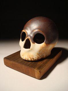 Iron Head Skull by skullhouse on Etsy, $25.00