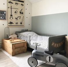 Boy Toddler Bedroom, Toddler Rooms, Boy Room, Bedroom Loft, Kids Bedroom, Bedroom Decor, Room Inspiration, Decoration, Home Decor