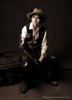 Old West Steampunk- Prosthetic arm